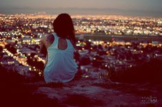 Happy being alone