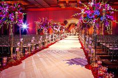 Suhaag Garden, Avani and Chirag, Loews Atlanta Hotel, R.A.G. artistry, Florida wedding decorator, Indian wedding decorator, South Asian wedding designers, mandap, wedding reception, centerpieces, wedding aisle