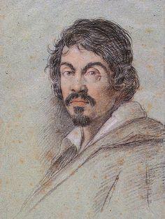 A portrait of the Italian painter Michelangelo Merisi da Caravaggio.