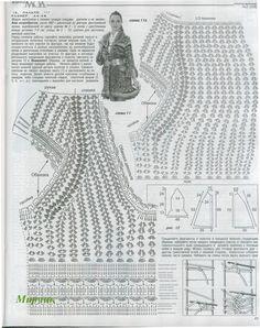Zélia Crochet: Vestido MARAVILHOSO 2