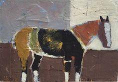 """Saatchi Art Artist laure heinz; Painting, """"Horse Study"""" #art Heinz, Horse Painting, Painting, Art, Collage Paper, Saatchi, Saatchi Art"""