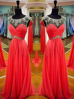 Chiffon Prom Dress, Prom Dresses, Graduation Party Dresses, Formal Dress For Teens, BPD0405
