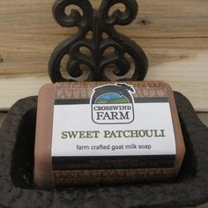 Check out Cross Wind Farm -... now available on our website! http://www.peterboroughcraftworks.ca/products/cross-wind-farm-goats-milk-soap-sweet-patchouli?utm_campaign=social_autopilot&utm_source=pin&utm_medium=pin