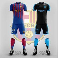Barcelona Third Kit, Barcelona Soccer, Fc Barcelona, Soccer Kits, Football Kits, Football Jerseys, Sports Jersey Design, Soccer Uniforms, Jersey Outfit