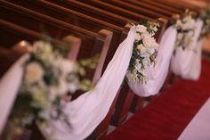 wedding church decoration