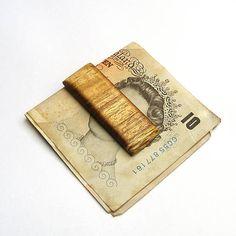 wlkr / Drevené spony na peniaze / Drevená spona na peniaze - agátová Agates, Money Clip, Money Clips, Agate
