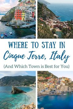 We're sharing our insider tips on where to stay in Cinque Terre, Italy, and we've gathered our top picks for the best hotels in each village! #cinqueterre #italytraveltips #traveltips