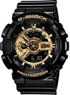 1c536c672ceb Casio G Shock Limited Edition Black Dial Men s Watch - GA110GB-1A 3.8 out of