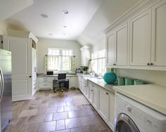 Laundry Room Built In Desk Design, Pictures, Remodel, Decor and Ideas