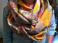 Decorella: Easy DIY Infinity Scarf