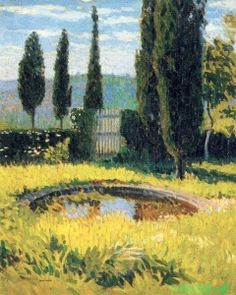 Bassin au fond du parc, Marquayrol - Henri Martin - The Athenaeum