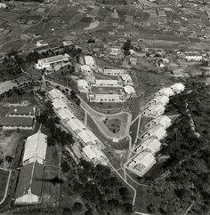 1964 Queen's Hill Barracks in Lung Yeuk Tau. British Hong Kong, China Hong Kong, View Map, City Photo, Past, Old Things, Street View, History, Pictures
