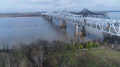 The Vicksburg Mississippi Bridge http://tampaaerialmedia.com/