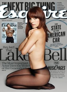 Lake Bell on Esquire magazine