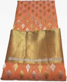 New addition to the luxurious Katan Silk Collections. Katan Sarees are Purest form of Chanderi Silk , hand woven and made by knitting together filaments. Chanderi Silk Saree, Silk Sarees, Katan Saree, Hand Weaving, Sari, Collections, Indian, Pure Products, Facebook