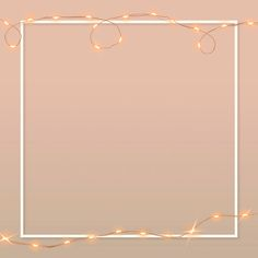 Download premium vector of Wired lights vector border frame on pink background by Hein about string lights, instagram, aesthetic, background, and beautiful 3021037