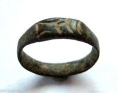 circa-800-900-A-D-British-Found-Viking-Period-Ae-Bronze-Ring-Inc-script