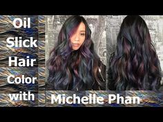 Oil Slick Hair Color Tutorial with Michelle Phan - YouTube