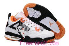 check out 85373 3c25c Nike Free Free Nike Free Run Free Run 2 Store Air Jordan 4 Kids White Total  Orange Triple Black Cheap New Jordans Shoes  Half off Shoes - Air Jordan 4  Kids ...