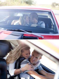 Vintage Car Engagement - PHOTO SOURCE • FAITHFULLY FOCUSED PHOTOGRAPHY