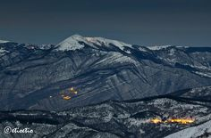 Crociglia moonlight: il monte Lesima by etioetio