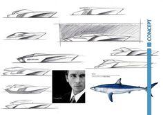 Politecnico di Milano – Master in Yacht Design - Car Body Design Yacht Design, Form Design, Sketch Design, Jon Boats For Sale, Boat Sketch, Yatch Boat, Speed Form, Conceptual Design, Concept Architecture