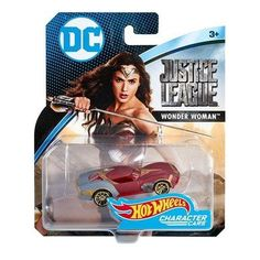 Hot Wheels DC Universe Wonder Woman Vehicle