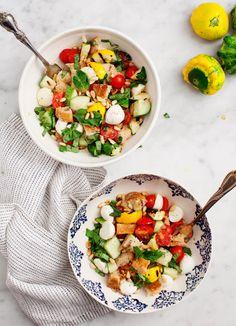 9 Recipes To Make Before Summer Ends - Pattypan Panzanella