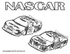 nascar car finish at 1st position coloring page sports coloring pages pinterest nascar cars
