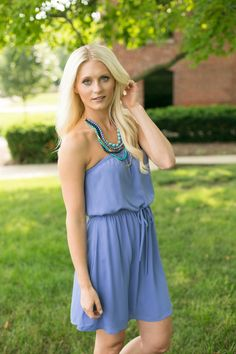 Magnolia Boutique Indianapolis - Summer Nights Strapless Dress - Periwinkle, $39.00 (http://www.indiefashionboutique.com/summer-nights-strapless-dress-periwinkle/)