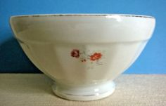 Vintage French Coffee / Cafe au Lait / Breakfast Bowl