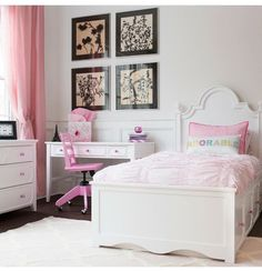 We love this stylish, elegant room featuring the Craft Collection dresser, desk and nightstand - now available with @MaxtrixKidsFurniture! Win one of these student chairs featured right now during their sweepstakes. Hop on over to @MaxtrixKidsFurniture to enter! Their stylish student chairs are perfect for back to school and add a great splash of color! ... - Interior Design Ideas, Interior Decor and Designs, Home Design Inspiration, Room Design Ideas, Interior Decorating, Furniture And…