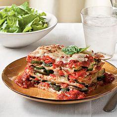 Fresh Vegetable Lasagna | MyRecipes.com