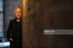 Actor Alan Rickman is photographed for Los Angeles Times at the Golden Theater on November 8, 2011 in New York City. PUBLISHED