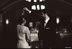 JLB wedding ann arbor Michigan league ballroom twirl gif dance Black & White