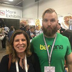 Me and @eatbarnana with our traditional yearly #expowestselfie #expowest #expowestanaheim #expowest2017  #barnana #naturalproductsexpowest