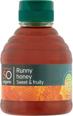 Sainsbury's Organic Runny Honey (340g)