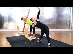 Madonna's Do-Anywhere Chair Workout, with Madonna's trainer Nicole Winhoffer