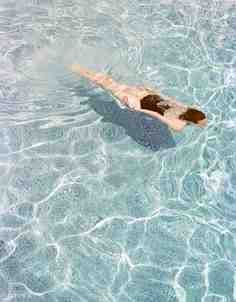 David Hockney - a master of the art of painting water.