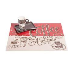 Tovaglietta Coffee rossa