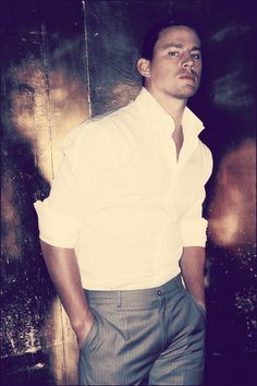 Channing...looking like the perfect Christian Grey