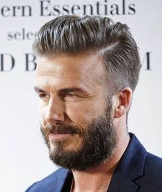 awesome hair styles for guys david beckham is seen at jimmy kimmel live on january 28 5716