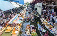 8 stunning food markets around the world  BangkokFloatingMarketAlbertoS.Dosantos.jpg