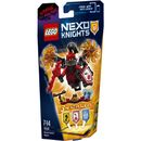 """Lego Nexo Knights: Ultimate General Magmar This warlord is playing nasty""""even Jestro needs to watch his back when Ultimate General Magmar starts spinning his flaming weapons. Use magic to daze opponents by summoning the Whirlwind NEXO Power! T http://www.MightGet.com/january-2017-11/lego-nexo-knights-ultimate-general-magmar.asp"""
