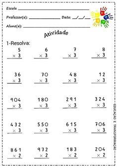 2nd Grade Math Worksheets, 4th Grade Math, Math Multiplication, Math Concepts, Math Classroom, Homework, Teaching, Motivation, School