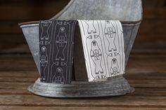Aapiste - Design by Riikka Kaartilanmäki Tea Towels, Barware, Traditional, Prints, Seal, Design, Collection, Dish Towels