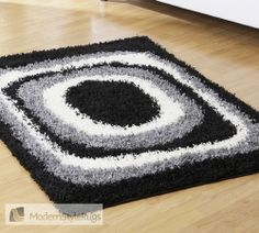 Mont Blanc Mb01 Black - Modern Style Rugs