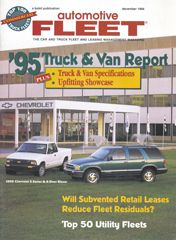 December 1994 Issue - Automotive Fleet Magazine