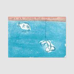 Det er flere fisk i havet - Björg Thorhallsdottir Snoopy, Fictional Characters, Universe, Fantasy Characters