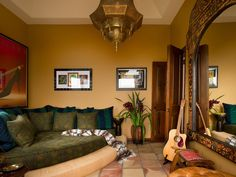 12 Spaces Inspired By India. Moroccan DecorMoroccan RoomMoroccan ...
